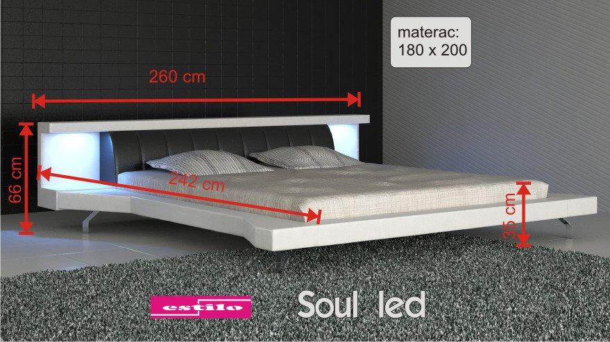 Soul Led 180x200 cm